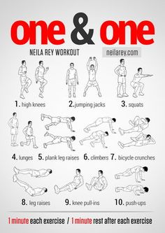 1&1 High Intensity Workout  Several different workout regiments along with nutrition, recipes and other healthy recouse