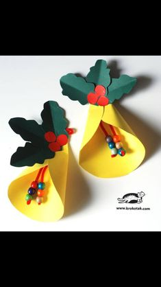 Yellew Christmas bells