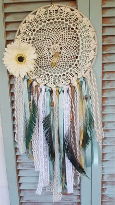Bohemian Dream Catcher Peacock//Bohemian Dream Catcher// boho//wedding decor//baby shower//home decor// by StuckLikeGlueShop on Etsy https://www.etsy.com/listing/386818826/bohemian-dream-catcher-peacockbohemian
