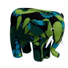 Un bon gros doudou éléphant, tout doux, tout moelleux et résolument tendance ! Marque Elodie Details