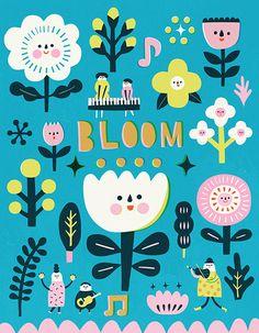 Flower Friends / Lilla Rogers