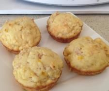 Ham, Cheese and Corn Muffins | Official Thermomix Recipe Community
