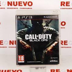 #Videojuego #CALL OF DUTY #BLACK OPS para #PS3 E270656 de segunda mano | Tienda online de segunda mano en Barcelona Re-Nuevo #segundamano