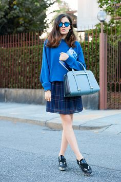 #myPollini blogger @Camille Eleonora Carisi wearing Pollini on her blog #JouJouVilleroy
