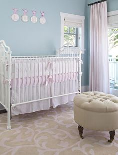 Romantic Nursery featured on Project Nursery  #laylagrayce #nurserydesign