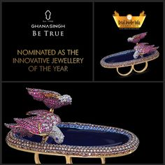 Ghanasingh Be True has been selected to be a nominee for Retail Jeweller India Awards in the Innovative Jewellery of the Year, '15 category, and we are inexplicably delighted!