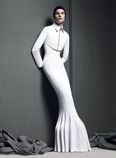 Futuristic Minimal , Fashion Style - Paperonfire