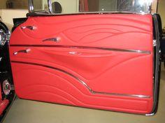 Custom Car Interior, Car Interior Design, Truck Interior, Interior Door, Interior Ideas, Automotive Upholstery, Car Upholstery, Dodge Dart, Door Trims