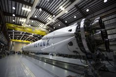 An already-flown rocket, ready for another go. Image Credit: SpaceX
