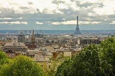 View from the Parc de Belleville in #Paris http://www.nyhabitat.com/blog/2013/04/29/interview-customer-jacques-veteran-paris/