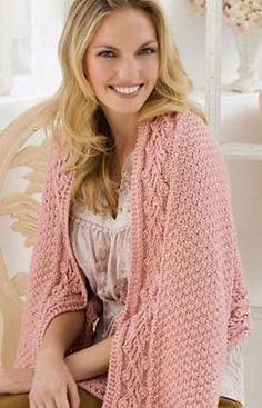 Ravelry: Briar Rose Yoga Wrap pattern by Heather Lodinsky