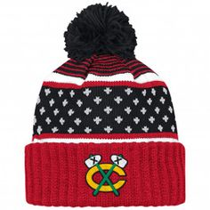 3a6fdfd0 The Highlands Cuffed Knit Chicago Blackhawks Mitchell & Ness Nostalgia Co.