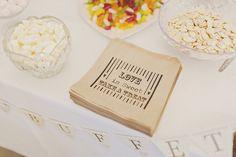 Sweetie Bags Whimsical Enchanted Woodland Twilight Wedding http://www.tracywestonphotography.com/