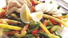 Bean and Carrot Mediterranean Salad