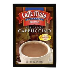 Caffe DVita Cappuccino French Vanilla 72 Pieces Caffe DVita Cappuccino French VanillaZero Trans Fat No Hydrogenated Oils Use With Hot Or Iced Beverage Ingredients Sugar NonHydrogenated ** You can get additional details at the image link. Sugar Free Hot Chocolate, Hot Chocolate Recipes, White Chocolate, French Vanilla Cappuccino, Iced Cappuccino, Mocha Coffee, Hot Cocoa Mixes, Savoury Cake, Traveling By Yourself
