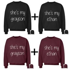 5aa6f9cdff8 DOLAN TWIN MERCH · These are best friend crewnecks that come as a set of 2  which come in a