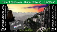 """Dieter Legenstein – Digital Painting 2019 / Picture #09 """"Breath & Relax"""" Doors Music, Justin Time, Corel Painter, Relax, Cool Books, Music Publishing, Painting & Drawing, Videos, Storytelling"""