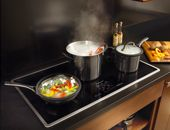 KitchenAid Architect Series II 36 in. Smooth Surface Induction Cooktop in Stainless Steel with 5 Elements Including - The Home Depot