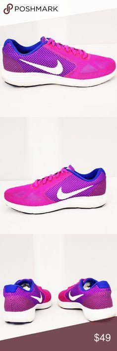 bd11a7f7d1 Nike Revolution 3 Athletic Sneaker Tennis Shoes Nike Revolution 3 athletic  sneaker tennis shoes Pink blue