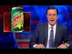 Doritos-Flavored Mountain Dew Gets Stephen Colbert to Break