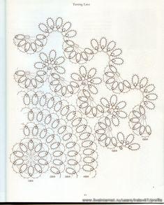Tatting Lace (фриволите). Обсуждение на LiveInternet - Российский Сервис Онлайн-Дневников