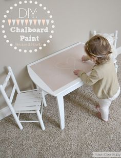 Fawn Over Baby: DIY: Color Chalkboard Paint- Recipe & Tutorial