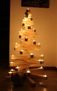 Albero di Natale in legno!