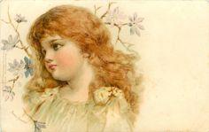 """Little Sunbeam"" / 1901 / Frances Brundage"