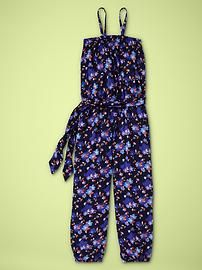 GAP Girls Printed Romper. So cool. Have her wear this with wedge platforms.