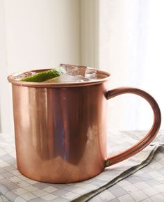 A Moscow Mule Love Story by A Beautiful Mess