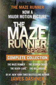 The Maze Runner Series Complete Collection (Maze Runner)