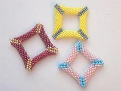Tutorial perline (Peyote): Come fare quadrato o triangolo bucati con perline 2/2 | Tutorial Perline