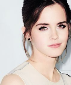 Emma Watson- love, love, love her hair and make-up!