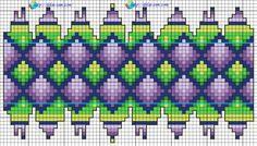 Пасхальное яйцо из бисера Patchwork абстракция Пасха схема
