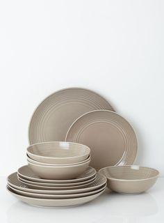Royal Doulton® Gordon Ramsay Maze Taupe Dinnerware ...