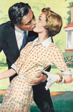 A Surprise Smooch  - 1954