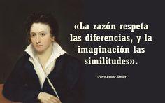 Cuando supe que el marido de Mary Shelley, Percy Bysshe Shelley, era poeta, escritor y ensayista, pensé: ¿Cómo pensaría? Hoy, aniversario de su nacimiento o fallecimiento por accidente a los 29 años –he encontrado fuentes contradictorias—, comparto con vosotros uno de ellos. La frase me ha recordado una similar de EL MONSTRUO DE FRANKENSTEIN. No he podido evitar pensar quien era el verdadero monstruo… ¡Feliz fin de verano!