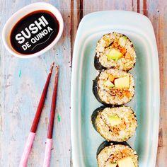 Sushi de Quinoa   Dias com Mafalda