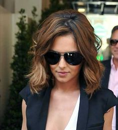 brown wavy short hair - Google Search
