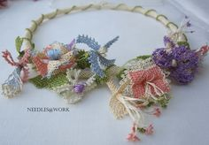 Knotted lace designed and made by Margreet Beemsterboer