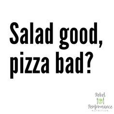 How many times have you seen the words 'guilt free' pasted across the front of a low cal ice cream or zoddle… Low Cal Ice Cream, Good Pizza, Have You Seen, Nutrition Information, Guilt Free, Feel Better, Good Food, Feelings, Words
