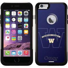 University of Washington Dark Watermark Design on OtterBox Commuter Series Case for Apple iPhone 6 Plus