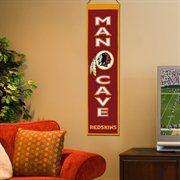 Washington Redskins Man Cave Banner - Burgundy