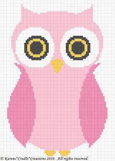 Crochet Patterns Owl Baby Girl Afghan Pattern Easy | eBay