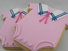 sailor onesie cookie~       by whalan, #, pink, baby