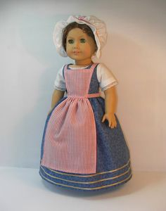 American Girl Felicity/'s Undergarments NIB Bumroll