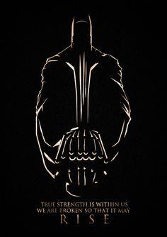 Dark Knight Rises fan art will be the instrument of your jubilation via @Hannah Logue.com