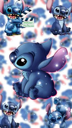 Iphone Wallpaper Themes, Disney Phone Wallpaper, Cartoon Wallpaper Iphone, Cute Patterns Wallpaper, Cute Wallpaper Backgrounds, Cute Cartoon Wallpapers, Purple Wallpaper Iphone, Lilo And Stitch Drawings, Disney Collage
