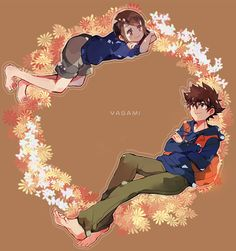 Digimon Seasons, Fanart, Digimon Digital Monsters, Digimon Adventure Tri, Eddie Vedder, Braveheart, 90s Kids, My Childhood, Japanese Art