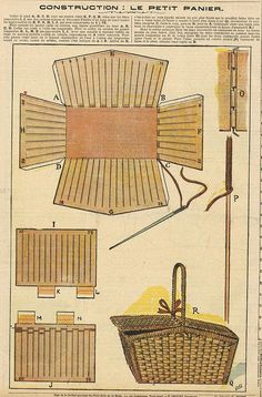 Easy And Cheap Cool Ideas: Wicker Cabinet Pantries wicker living room window seats.Wicker Diy Laundry Rooms wicker storage home office. Papel Vintage, Vintage Paper, Paper Toys, Paper Crafts, Paper Clay, Paper Doll House, Wicker Furniture, Wicker Couch, Wicker Trunk
